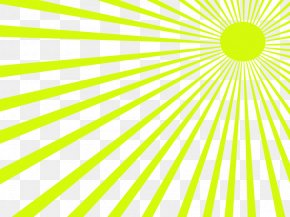Light Green Rays - Light Green Flash Line PNG