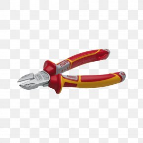 Pliers - Diagonal Pliers Tool Wire Stripper Lineman's Pliers PNG