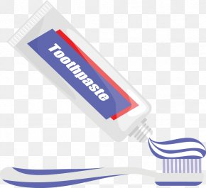 Toothpaste - Toothpaste Toothbrush PNG