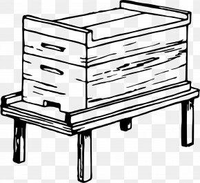 Beehive - Western Honey Bee Beehive Clip Art PNG