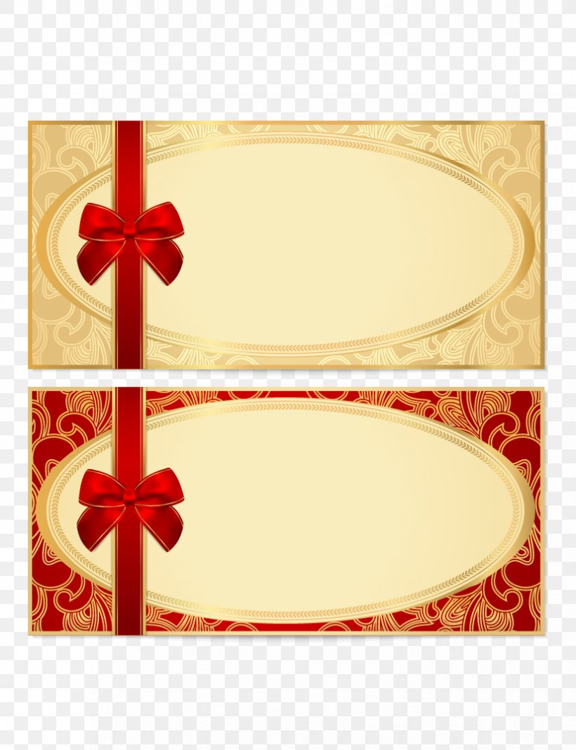 Coupon Gift Card Voucher Template Stock Photography Png