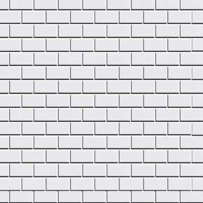 Physical White Brick Wall - Stone Wall Brickwork Black And White Material PNG