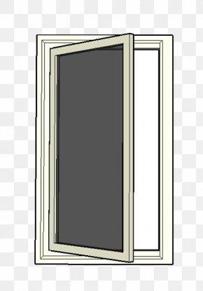 Single Door Painted Glass Window Glazing - Window Door Glass PNG