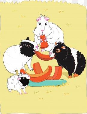 Guinea Pig - Guinea Pig Cat World Book Day Pet PNG