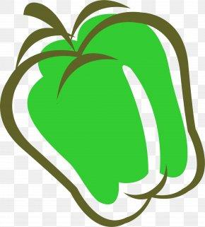 Green Cartoon Apple - Apple Cartoon Clip Art PNG