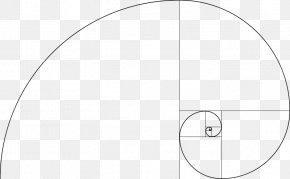 Fibonacci Spiral - Fibonacci Number Golden Spiral Golden Ratio Mathematics PNG