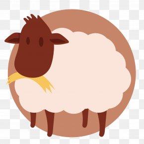 Vector Cartoon Goat - Sheep Goat Livestock PNG