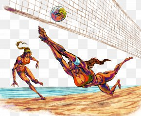 Beach Volleyball Player - Beach Volleyball PNG