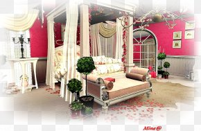 Valentine's Day - Bedroom Living Room Interior Design Services Valentine's Day PNG