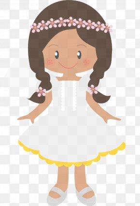 Style Brown Hair - Cartoon Clip Art Ballet Dancer Brown Hair Style PNG