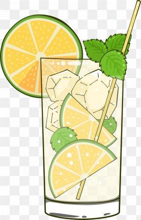 Summer Refreshing Lemon Drink - Mojito Juice Caipirinha Soft Drink Lime PNG