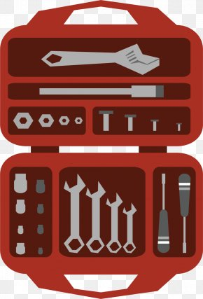 Open The Red Toolbox - Toolbox Wrench PNG