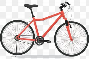 Red Mountain Bike - Dubey Cycle Stores Indore Hybrid Bicycle Bicycle Frame PNG