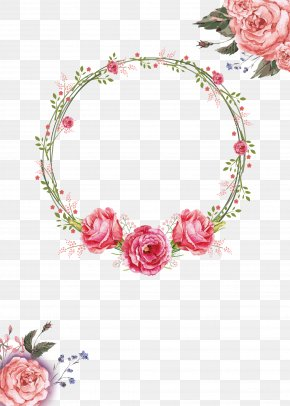Peony Wreath - Floral Design Wreath Garland Crown PNG