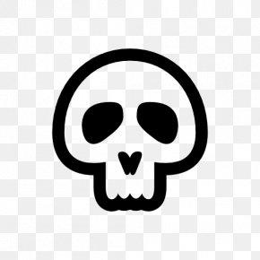 Skull - Skull Bone Symbol PNG
