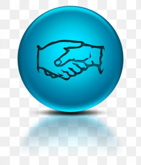 Blue Handshake Icon - United States Link Free Indian Contract Act, 1872 Clip Art PNG