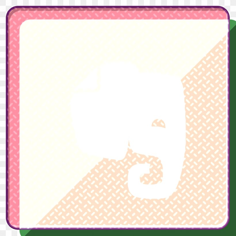 Evernote Icon Gloss Icon Media Icon, PNG, 1090x1090px, Evernote Icon, Gloss Icon, Media Icon, Pink, Rectangle Download Free