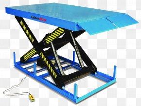 Platform - Lift Table Forklift Pallet Jack Elevator Material Handling PNG