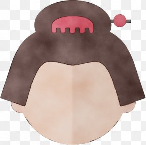 Costume Tongue - Pink Head Nose Mouth Tongue PNG