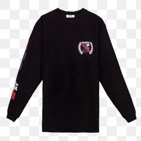 T-shirt - T-shirt MERCH OR DIE Hoodie Sleeve Crew Neck PNG