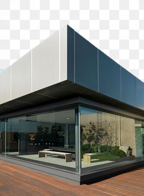 Modern Floor Glass Wall Construction - Glass Floor Architecture Wall Building PNG