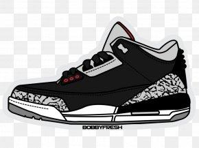 Jordan - Jumpman Air Jordan Sticker Shoe Nike PNG