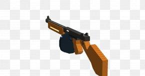 Submachine - Trigger Firearm LEGO Thompson Submachine Gun PNG