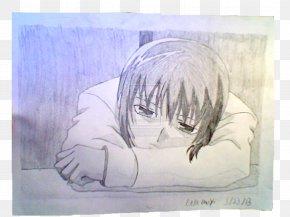 Yuki Sohma - Watercolor Painting Drawing Portrait Sketch PNG