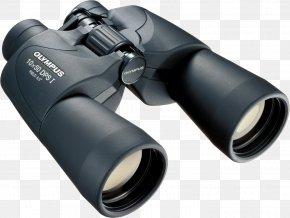 Binocular - Binoculars Olympus Wide-angle Lens Porro Prism Field Of View PNG