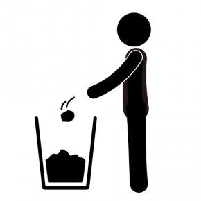 Away Cliparts - Waste Container Clip Art PNG