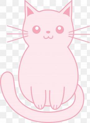 Kitty Hawk Cliparts - Kitten Pink Cat Puppy Hello Kitty PNG