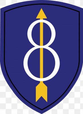 United States - 8th Infantry Division Second World War United States Army 1st Infantry Division PNG