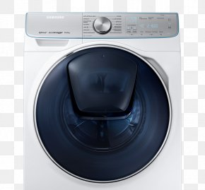 Home Appliance - Samsung WW8800 QuickDrive Washing Machines Home Appliance PNG