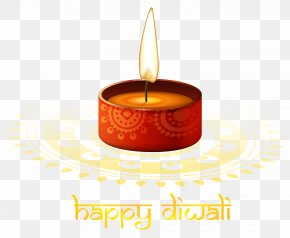 Red Candle Happy Diwali Image - Diwali Candle Clip Art PNG