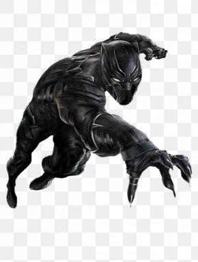 Black Panther Clipart - Black Panther Captain America Wakanda Marvel Comics PNG