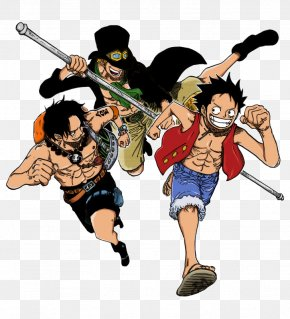One Piece - Monkey D. Luffy Portgas D. Ace Nami One Piece Sabo PNG