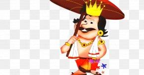 Animation Cartoon - Onam Festival PNG