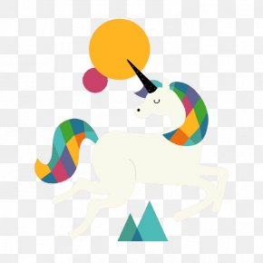 White Unicorn - Unicorn Clip Art PNG