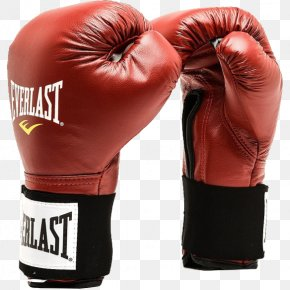 Boxing - Boxing Glove Everlast Ounce Sporting Goods PNG