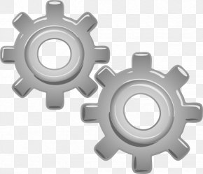 Gears Motion Motor Engine 3 Clip Art At Clkerm Vector Clip Art - Car Engine Electric Motor Clip Art PNG
