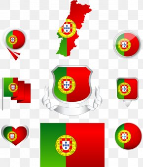 Vector Portugal Flag - Flag Of Portugal PNG