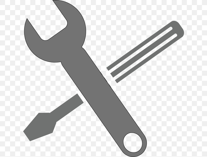 Spanners Adjustable Spanner Hand Tool Pipe Wrench, PNG, 640x622px, Spanners, Adjustable Spanner, Black And White, Can Stock Photo, Car Download Free