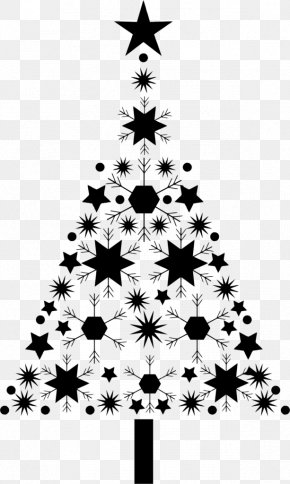 Christmas Silhouette Christmas Ornaments - Christmas Tree Snowflake Christmas Day Clip Art PNG