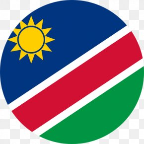 Flag - Flag Of Namibia South West Africa National Flag Flags Of The World PNG