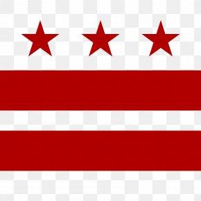 Flag - Flag Of Washington, D.C. Maryland State Flag PNG