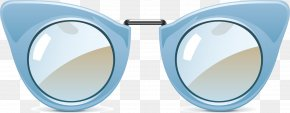 Vector Hand-painted Glasses - Sunglasses Goggles PNG