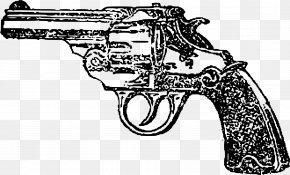 Pistol - Firearm Pistol Revolver Clip Art PNG
