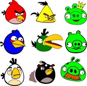 Angry Pics - Angry Birds Trilogy Angry Birds Star Wars Angry Birds Rio Clip Art PNG