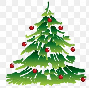 Christmas Tree - Christmas Tree Euclidean Vector Gift PNG
