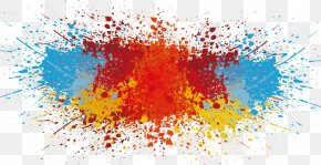 Vector Splash Of Paint - Color PNG